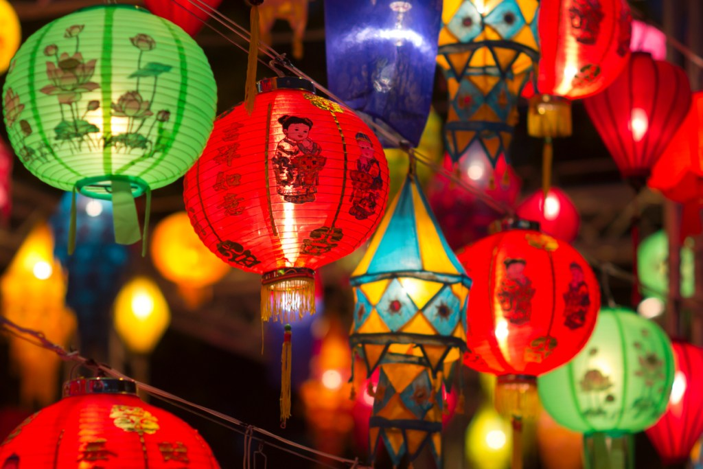Lanterns in Hong Kong