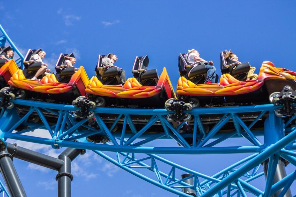Linnanmaki Amusement Park in Helsinki