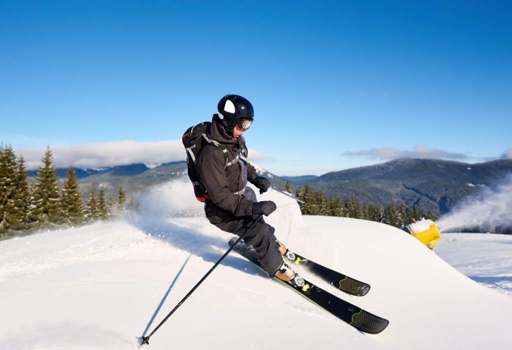 Skiing Cannon Mountain