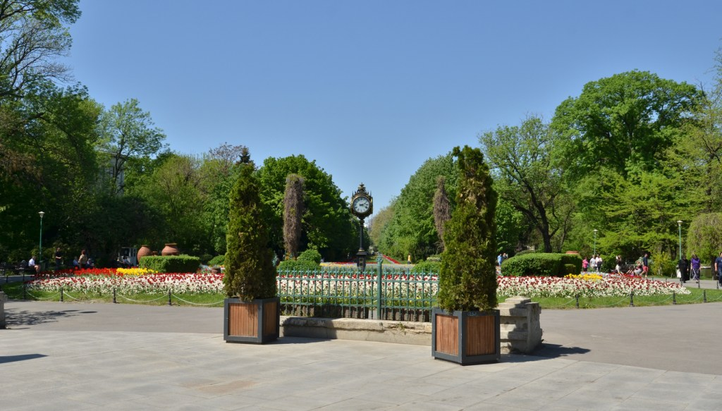 Entrance to Cismigiu Park, Bucharest