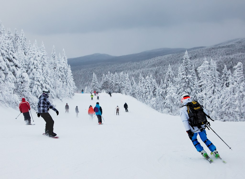 Mont-Tremblant Ski Resort, Quebec, Canada