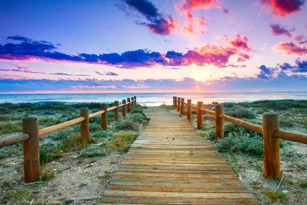 The beach at Cabo de Gata, Almeria, Spain