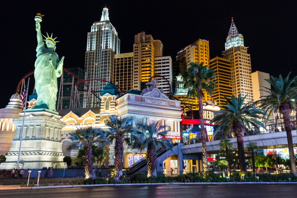 New York-New York is a hotel located on the famous Las Vegas Strip.