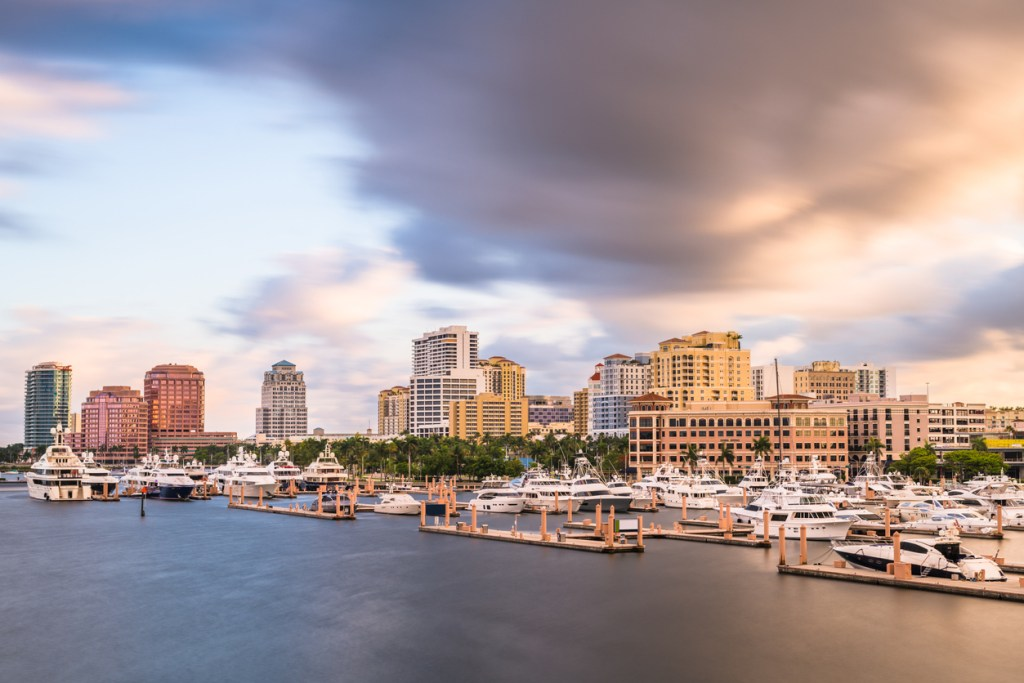 West Palm Beach, Florida, USA Skyline