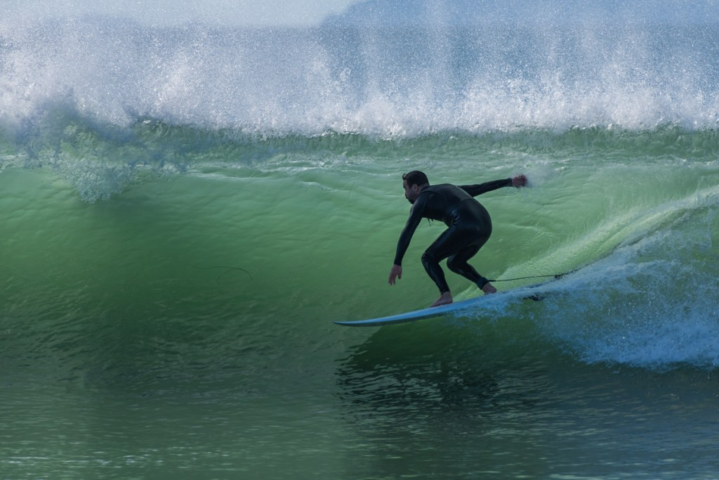 Surfing in Ventura California
