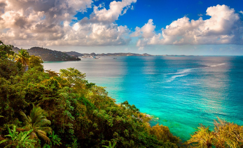 St George's in the Caribbean island of Grenada