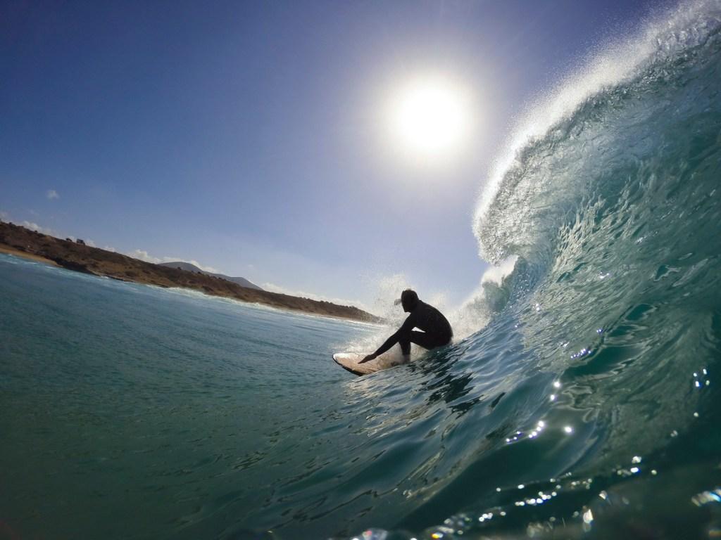 Surfing in Fuerteventura