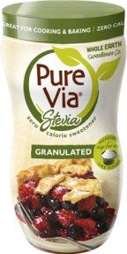 Pure Via stevia-based granulated sweetener