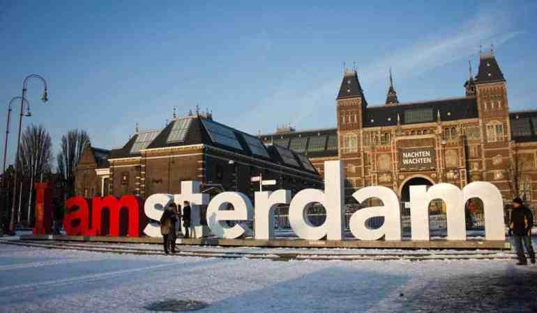 Bundled Up Babies in Amsterdam