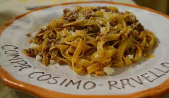homemade pasta in ravello italy by eileen cotter wright