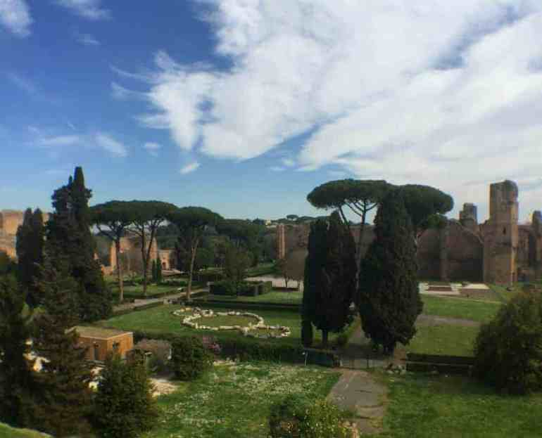 roman ruins rome italy eileen cotter wright