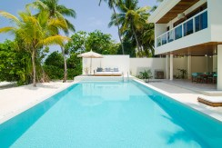 Amilla 4 Bedroom Villa Residences - Poolside