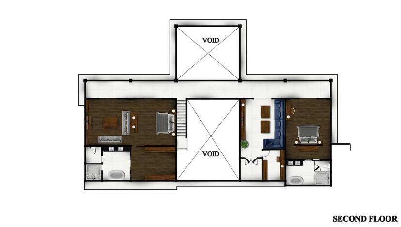 Villa Tjitrap - second-floor