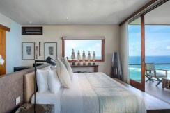 Villa Bidadari Cliffside Estate - Bedroom Outlook