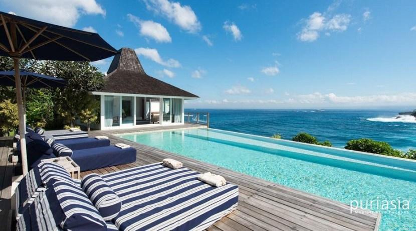 Villa Tranquilla - Vieew from the Pool