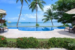 Tawantok Beach Villas - Villa One - Stunning View from Garden