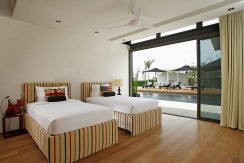 Villa Essenza - Twin bedroom layout