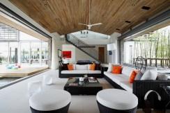Villa Cielo - Living area