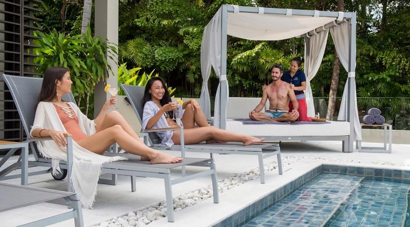 Villa Naam Sawan - Blissful poolside