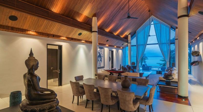 Villa Naam Sawan - Living and Dining Area