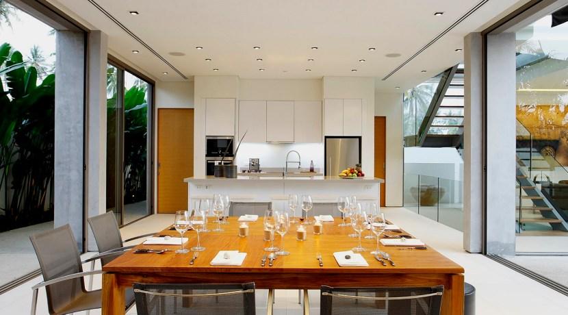 Villa Roxo - Dining area design