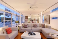Villa Sapna - Living room stylish design