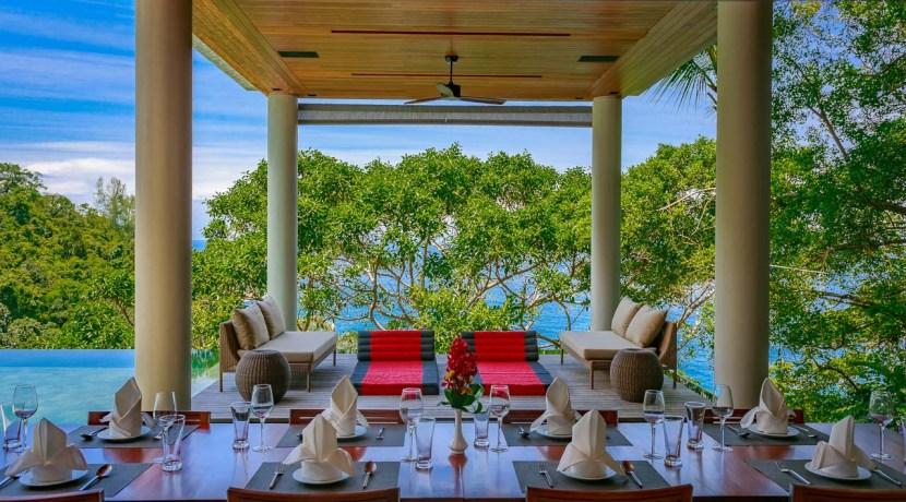Villa Baan Banyan - Poolside dining