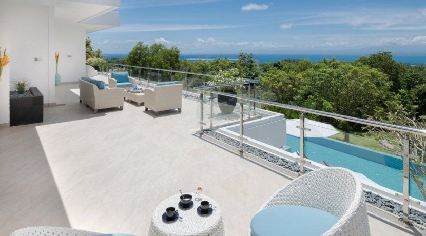 Villa KaliBali - Guest Bedroom Terrace