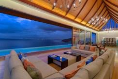 Villa Haleana - Living Area Outlook