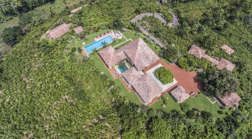 Villa Mayurana - Villa Aerial