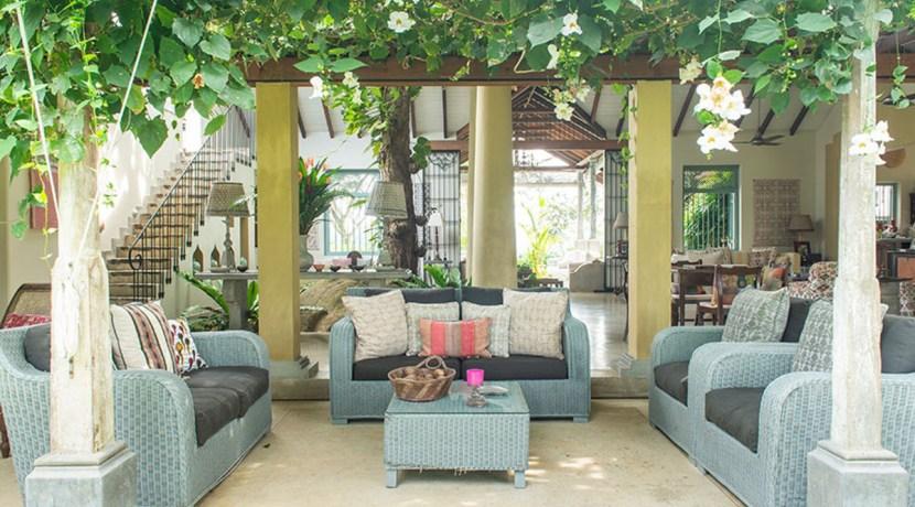 Sisindu Tea Estate - Outdoor  Living Area
