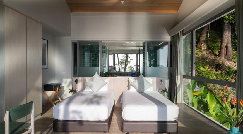 Eagles Nest Villa - Twin Bedroom