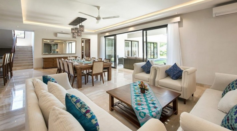 Villa Yamuna - Living and Dining Room