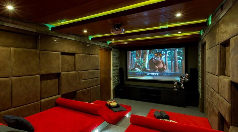 Villa Spice - Cinema Room