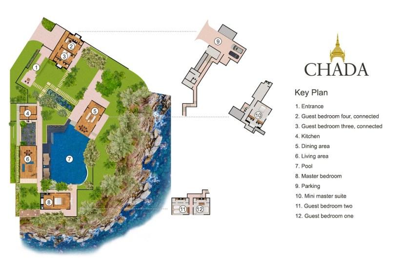Villa Chada - Floorplan