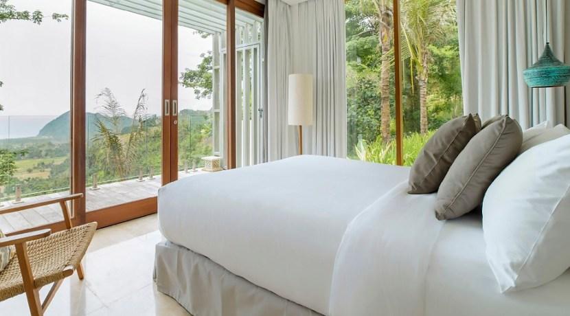 Villa Sandbar - Bedroom with exquisite landscape