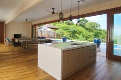 Villa Tebing - Kitchen and living area preview