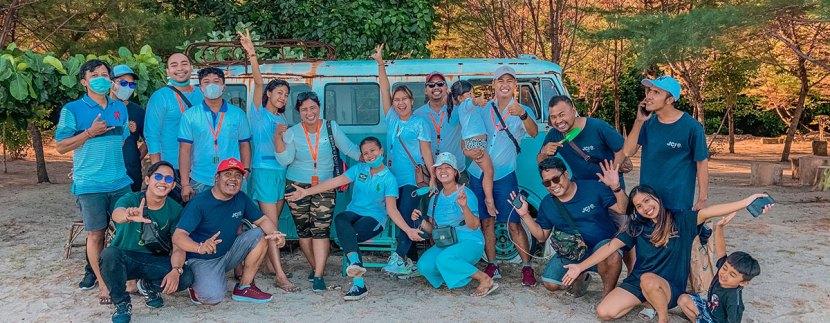 Puri Asia Indonesia support JCI Bali for International Earth Day in Sanur Beach Bali,