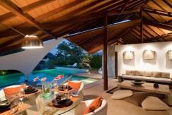 Villa Kailasha_0010_10-The Layar - 3 bedroom - Living and dining at night