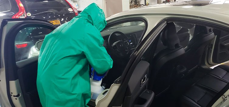 car disinfection