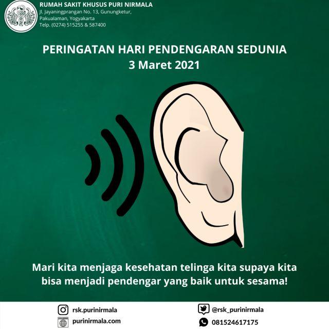 kiat menjaga kesehatan telinga