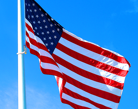 free america flag cleaning