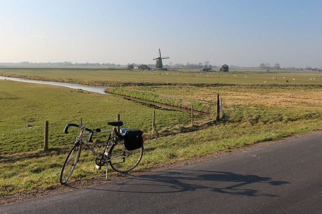 fietsroutes rond purmerend