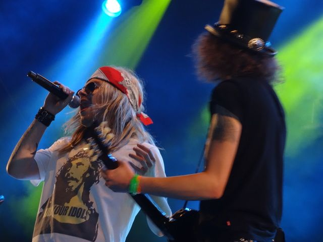 Reuring 2015: Guns 'n Roses tribute