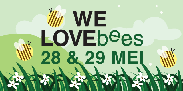 we love bees in eggertcentrum purmerend