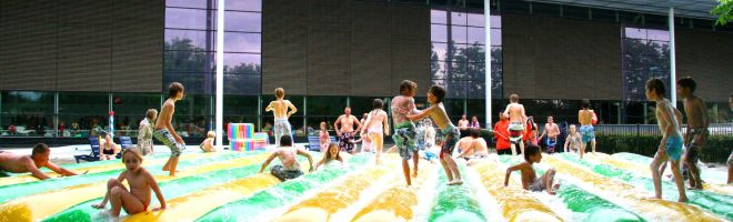 Zomer kinde water feest Zomer in het Park Spurd Purmerend