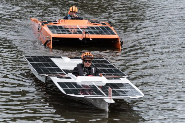 Solar Boat Race Purmerend 1