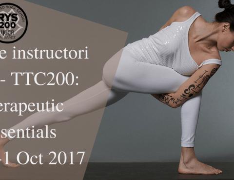 Yoga Teacher Training Therapeutic Essentials TTC200 - PURNA Yoga Academy