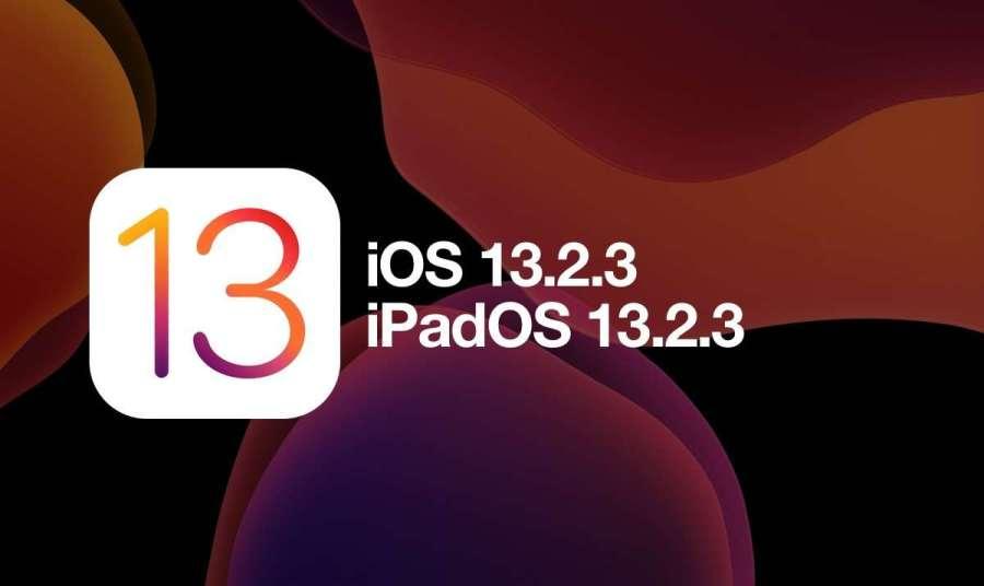 Apple libera la versión oficial de iOS y iPadOS 13.2.3 para todos los dispositivos compatibles