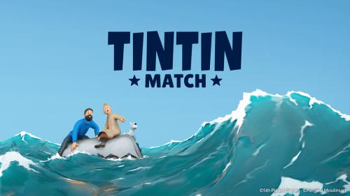"""«Tintin Match"""" se lanzó a nivel mundial para Android e iOS el lunes 31 de agosto de 2020"""